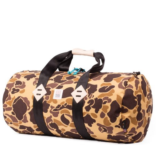 Topo Designs Duffel Bag Duck Camo Undscvrd