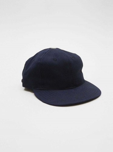 Ebbets Field Flannels Cotton Cap Navy Present London