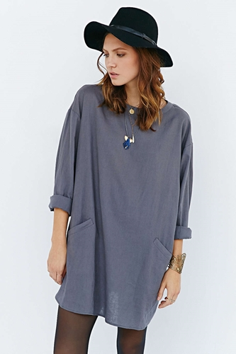 Ecote Cocoon Dress Urban Outfitters