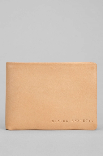 Status Anxiety Jonah Narrow Billfold Wallet Urban Outfitters