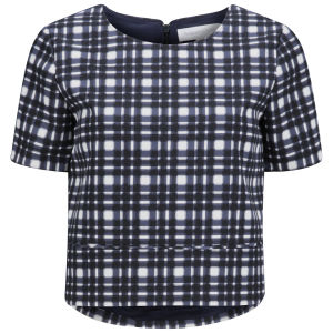 Finders Keepers Women's Daydreamer Top Tartan Print Womens Clothing Free Uk Delivery Over 50