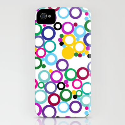 Ring Toss iPhone Case by Catherine Holcombe Society6