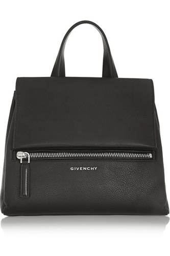 Givenchy Small Pandora Pure Bag In Black Textured Leather Net A Porter.Com