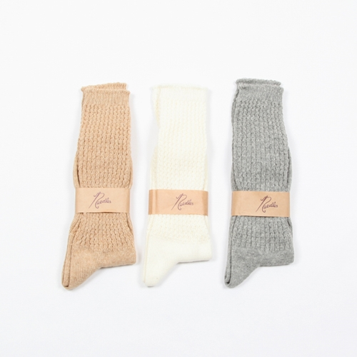 Needles Outlast Loose Socks Silver And Gold Online Store