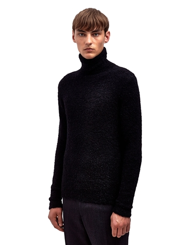 Raf Simons Mens Knitted Narrow Fit Roll Neck Sweater Ln Cc