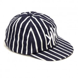 6 Panel Cap Marine Stripe