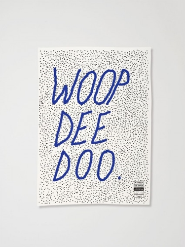 Woop Dee Doo X Tom Polo Tea Towel by Third Drawer Down Douglas Bec