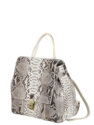 Ghibli Python Leather Backpack Luisaviaroma Luxury Shopping Worldwide Shipping Florence