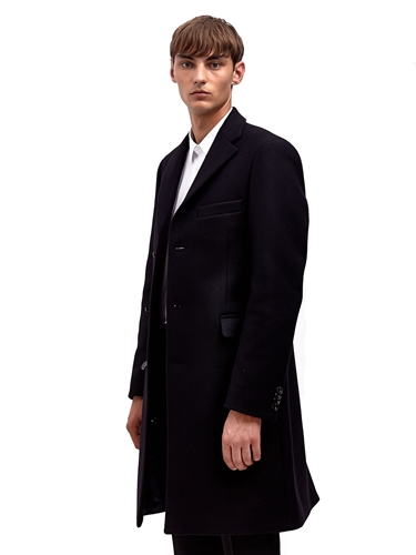 Acne Mens Garret Classic Coat Ln Cc
