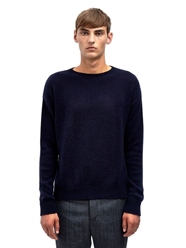 Marni Mens Long Sleeved Crew Neck Cashmere Sweater