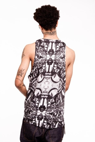 Illustrated People Men's The Fight Vest At Amazon Men's Clothing Store