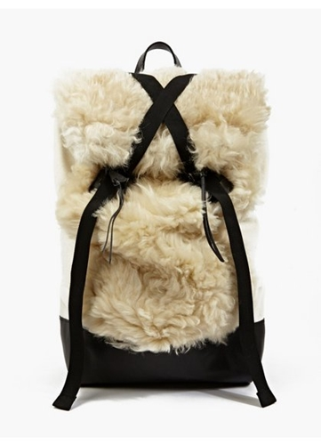 Men's Remade Limited Edition Sheepkin Backpack