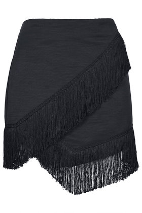 Fringe Trim Wrap Skirt New In This Week New In Topshop