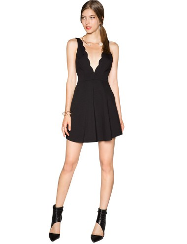 Black Fit And Flare Dress Sexy Little Black Dress 42