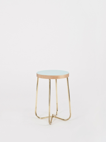 Cross Brass Stool For Kate Sylvester Douglas Bec