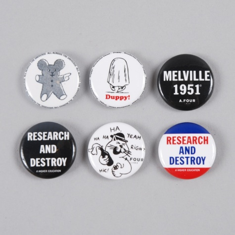 A.Four Pin Badge Set 6 Pcs