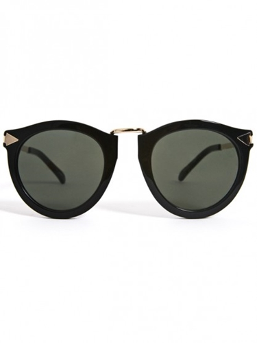 Karen Walker Eyewear Harvest Black At Gargyle
