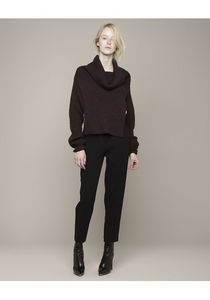 3 1 Phillip Lim Ribbed Funnel Neck shrug La Garconne