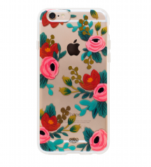 Rifle Paper Co. Clear Rosa Protective Iphone Cover