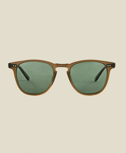 STAG Garrett Leight Brooks Matte Espresso SUNGLASSES