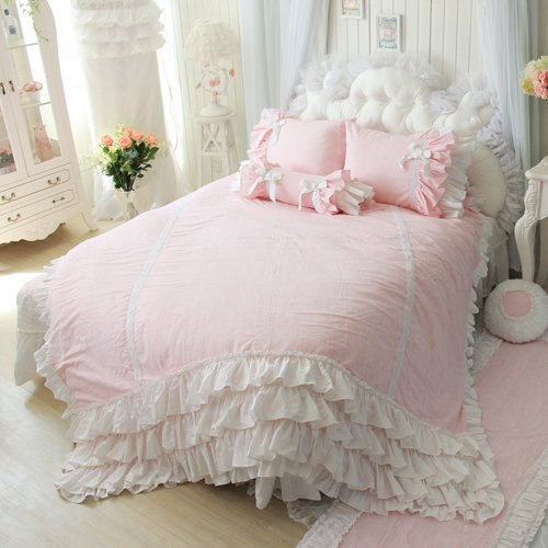 Custom Silk Duvet Cover In Any Color Ruffled By Catyscribs On Etsy