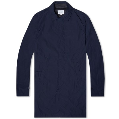 Norse Projects Thor Light Cotton Jacket Navy