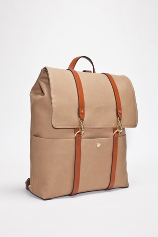 Mismo Backpack Hazel Brown Cuoio TRES BIEN