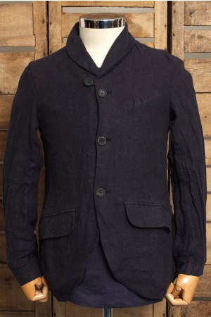 Tokyo Tailor Jacket Navy Linen Sale Summer 2012