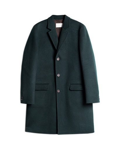Neighbour Double Face Coat Green