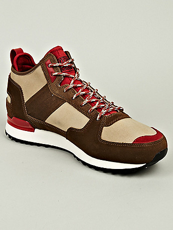Adidas Originals x RANSOM Men s Military Trail Runner Sneaker in beige red at oki ni