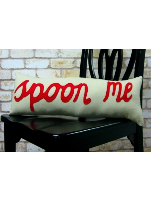 Spoon Me Pillow Red Only 53.49 Unique Gifts Home Decor Karma Kiss