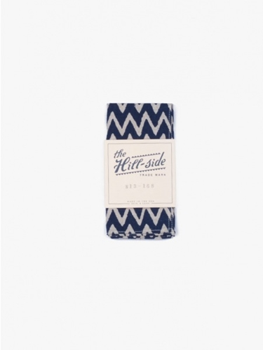 The Hill Side Pocket Square Zig Zag