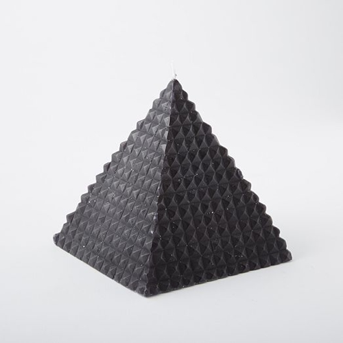 Pyramid Candle West Elm