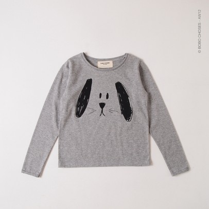Tee Shirt Ls Square Bobo Choses