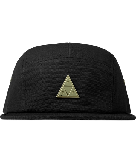 Huf Black Metal Triple Triangle Volley Cap Hypebeast Store. Shop Online For Men's Fashion Streetwear Sneakers Accessories