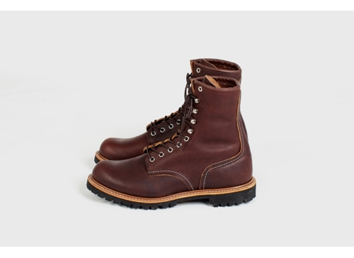 Red Wing Shoes Red Wing Shoes 4585 8 Logger Briar Oil Slick