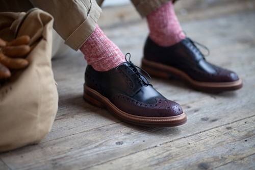 Grenson for Heritage Research Autumn Winter 2012 Footwear The Shoe Buff Men s Contemporary Shoes and Footwear