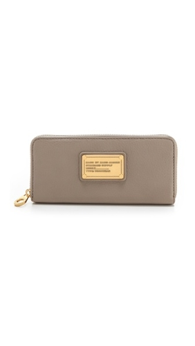 Marc By Marc Jacobs Classic Q Slim Zip Around Wallet Shopbop