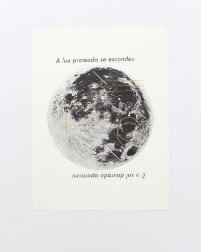 Moon Print Graphic