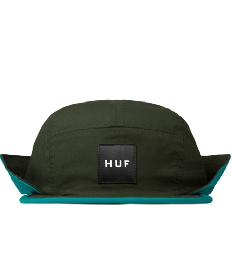 Huf Olive Flapback Cinch Volley Cap Hypebeast Store. Shop Online For Men's Fashion Streetwear Sneakers Accessories