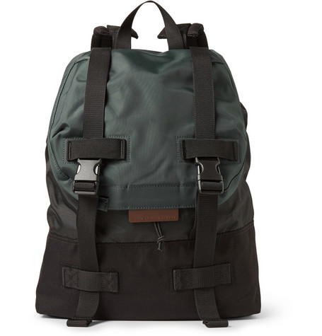 Marc By Marc Jacobs Two Tone Canvas And Shell Backpack Mr Porter
