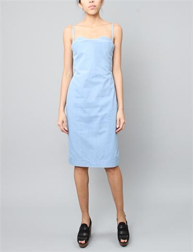 Acne Studios Thelma Indigo Dress Light Denim
