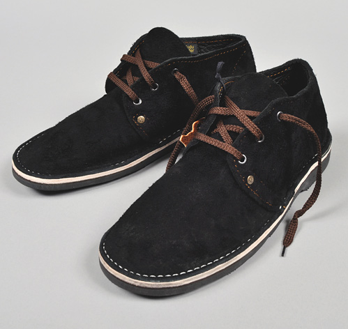 VELSKOEN HANDMADE SHOES BLACK HICKOREE S HARD GOODS