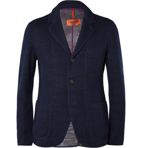 Missoni Unstructured Single Breasted Wool Jacket Mr Porter