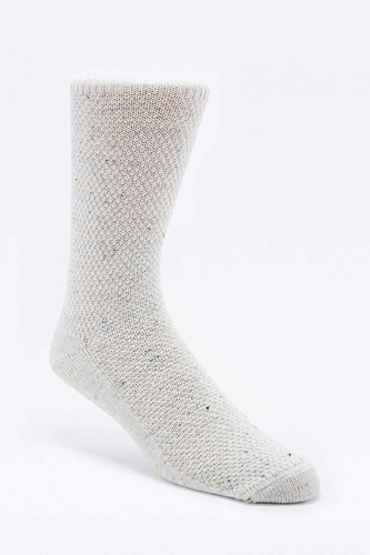 Pique Plain Neppy Socks In Cream Urban Outfitters
