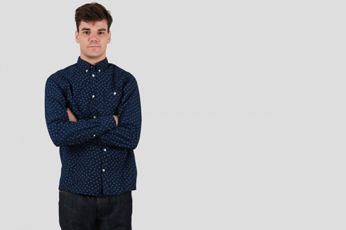 Norse Projects Anton Indigo Dark Indigo Norse Projects Createurs