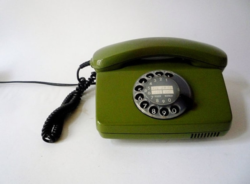 Vintage Rotary Phone Made in Germany par oppning sur Etsy