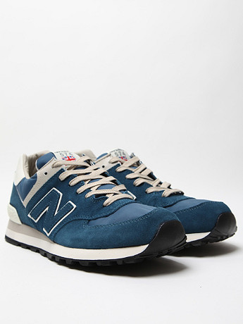 New Balance Ml574 In Blue At Oki Ni