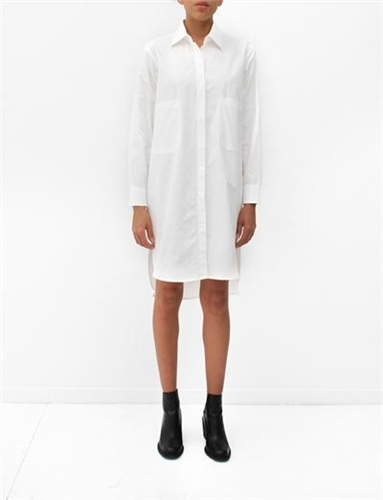 Caron Callahan Austin Shirtdress White
