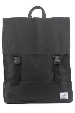 GOOD AS GOLD HERSCHEL SUPPLY CO survey backpack black
